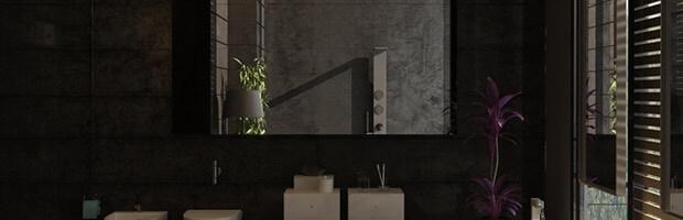 Spiegelschrank nach Maß individuell Beleuchtet