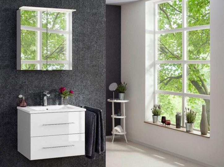 fackelmann waschtisch mit unterschrank 60cm. Black Bedroom Furniture Sets. Home Design Ideas