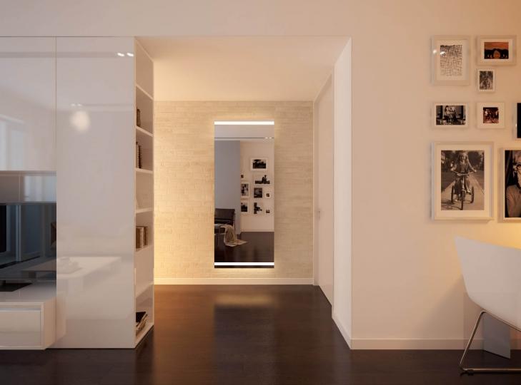 wandspiegel mit led beleuchtet. Black Bedroom Furniture Sets. Home Design Ideas