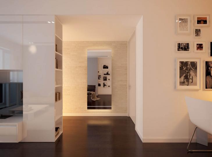 Wandspiegel mit led beleuchtet - Beleuchtung fur badezimmerspiegel ...