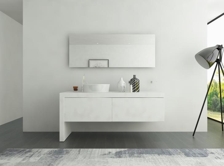 badspiegel mit beleuchtung nach ma hinterleuchtet. Black Bedroom Furniture Sets. Home Design Ideas