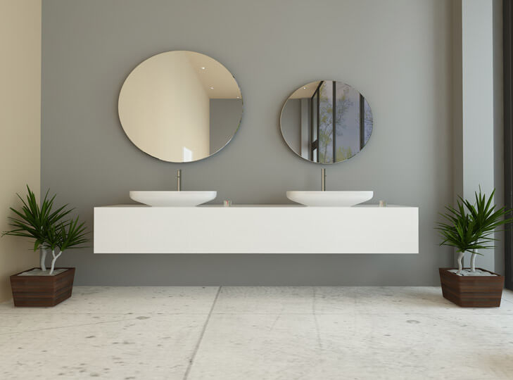 badspiegel mit beleuchtung. Black Bedroom Furniture Sets. Home Design Ideas